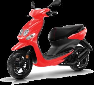 scooter rijbewijs rood